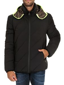 Fendi - Reversible down jacket with FF print