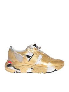 Golden Goose Deluxe Brand - Sole Running sneakers with golden coating