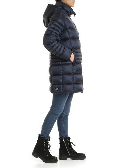 Colmar Originals - Place down jacket in blue with hood