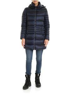 Colmar - Place down jacket in blue with hood