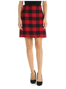 Pinko - Ozonizzare skirt in red and black checked