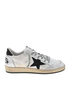 Golden Goose - Ball Star sneakers in white and silver color