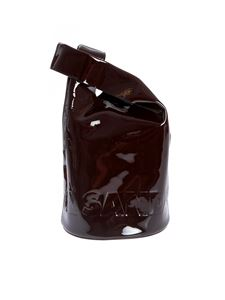 Jil Sander - Market Bucket S bag in chocolate color