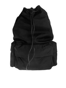 Jil Sander - Climb backpack in black with patch
