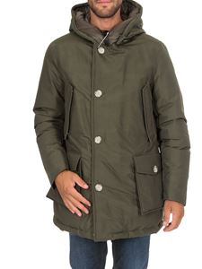 Woolrich - Arctic Parka Fr down jacket in green