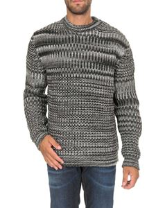 MSGM - Crewneck sweater in shades of grey