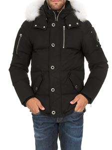 Moose Knuckles - 3Q quilted down jacket in black