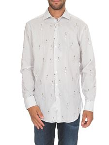 Etro - Cotton shirt with bees print