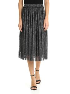 Isabel Marant Étoile - Jupe Beatrice skirt in black and silver