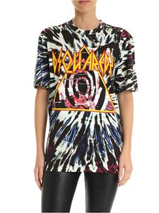 Dsquared2 - T-shirt multicolor con stampa TyeDye