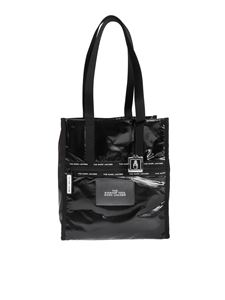 Marc Jacobs  - The Ripstop tote bag in glossy black