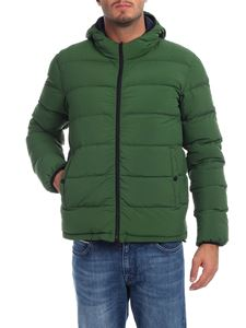 Herno - Reversible down jacket in green
