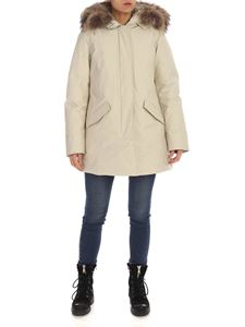 Woolrich - Arctic parka in beige color