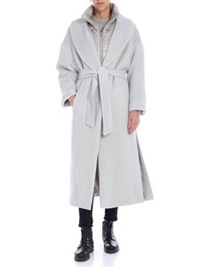 Herno - Padded coat in ice color