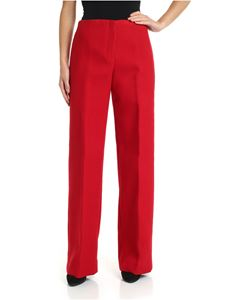 Theory - Palazzo trousers in red