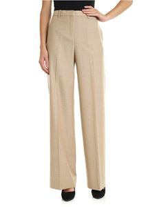 Theory - Palazzo trousers in beige