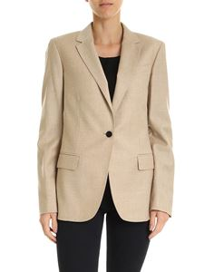 Theory - Giacca monopetto beige