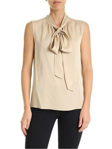Theory - V-neck top in beige