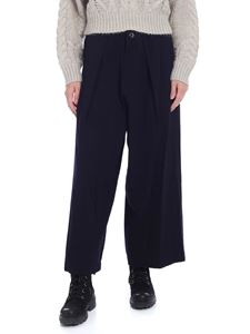 Y's Yohji Yamamoto - Wide blue trousers with pleats