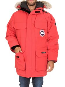 Canada Goose - Expedition parka in coral red