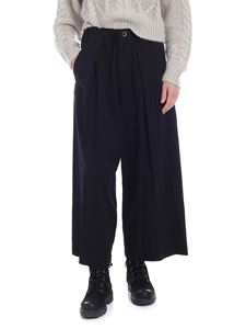 Y's Yohji Yamamoto - Wide trousers in black with pleats