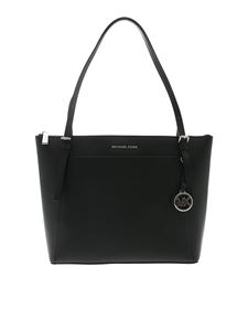 Michael Kors - Voyager shoulder bag in black