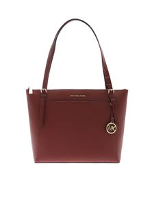Michael Kors - Voyager shoulder bag in burgundy
