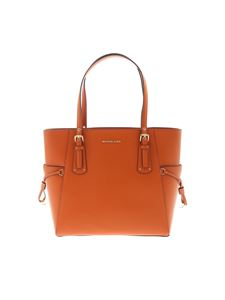 Michael Kors - Voyager small Tote Bag in orange