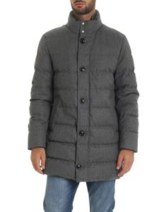 Moncler - Baudier down jacket in grey