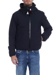 Moncler - Duport hooded down jacket in black