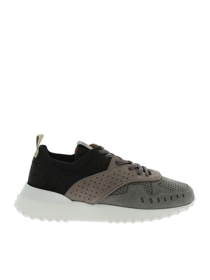 Tod's - Sneakers 80A nere e grigie