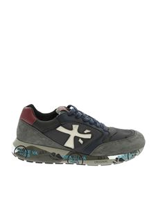 Premiata - Zac Zac sneakers in blue and gray