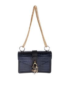 Chloé - Aby chain shoulder bag in Full Blue