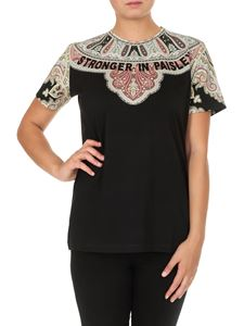 Etro - Stronger in Paisley T-shirt in black