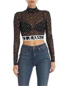 Versace - Versace Couture jeans tulle t-shirt