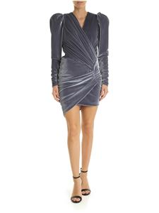 Alexandre Vauthier - Wrap dress in silver color