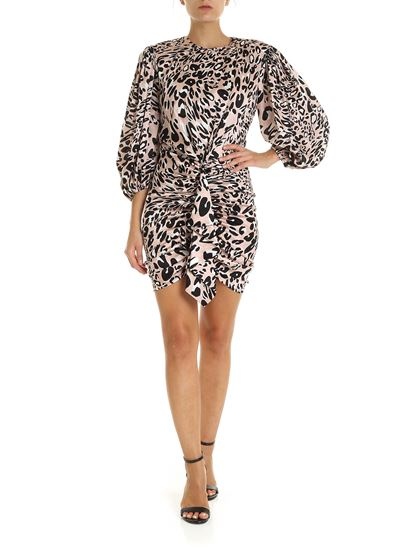 Alexandre Vauthier - Pink dress with animal pattern