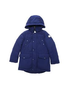 Moncler Jr - Salagou down jacket in blue