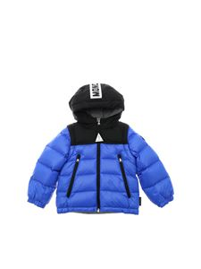 Moncler Jr - Doc down jacket in electric blue
