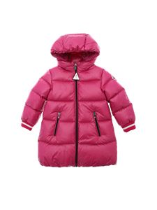 Moncler Jr - Gliere down jacket in cyclamen color