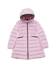 Moncler Jr - Charpal down jacket in pink