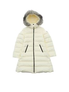Moncler Jr - Abelle down jacket in ivory color