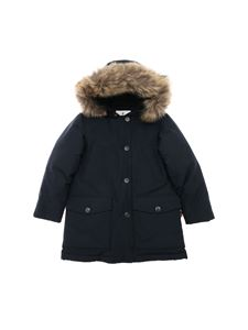 Woolrich - Parka Df down jacket in blue
