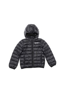 EA7 Emporio Armani - Black quilted down jacket