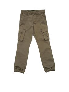 Emporio Armani - Army green trousers with pockets