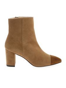 Stuart Weitzman - Jill pointed booties in camel