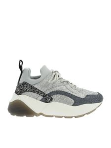 Stella McCartney - Eclypse sneakers in silver glitter