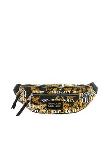 Versace - Versace Jeans Couture printed pouch in black