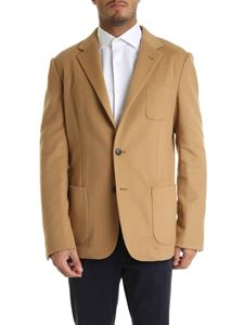 Z Zegna - Camel-colored wool and cashmere jacket