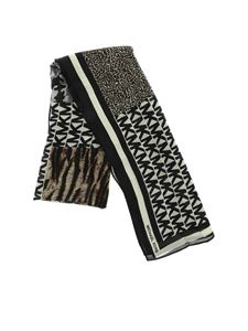 Michael Kors - MK scarf with animal prints